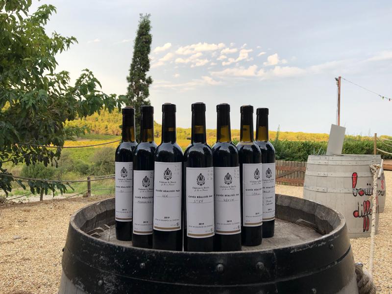 Séminaire Dégustation Création Vin Cépage Château Le Bouïs